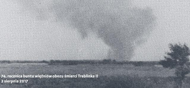 74. rocznica buntu więźniów wobozie Zagłady wTreblince